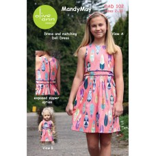 MandyMay- PDF (with matching doll dress)